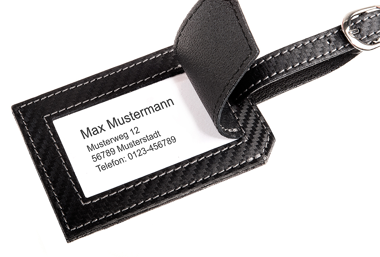 Amg Private Lounge Luggage Tag