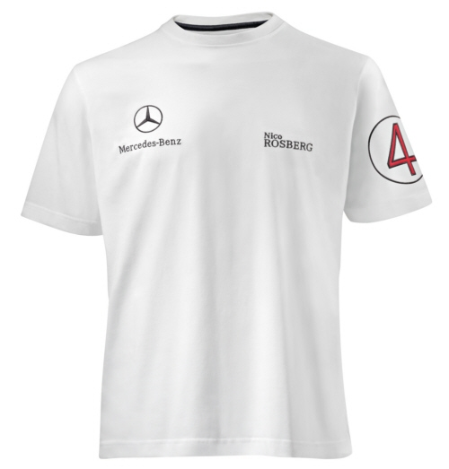 Men 39 s t shirt rosberg amg private lounge for Mercedes benz shirts