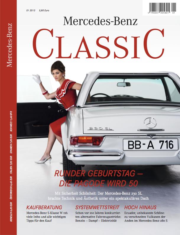 Mercedes benz classic magazin 2013 1 deutsch amg for Mercedes benz classic magazine